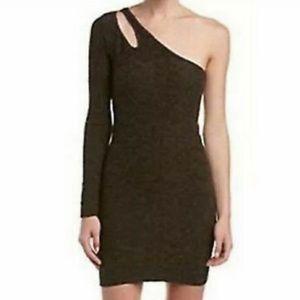 NWT BCBGeneration One Shoulder Bodycon Mini Dress